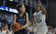 Haley Peters has proven to be a dangerous inside and outside threat for Duke women's basketball.