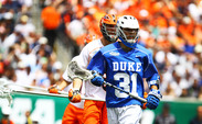 Fresh off a career year, all eyes will be on senior attack Jordan Wolf to lead the Duke offense.