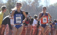 Sophomore Kelsey Lakowske led the Blue Devils, finishing in 20th overall and earning All-America honors.