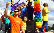 Students and Durham residents attended the 29th annual Pride Parade Saturday.