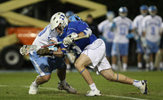 Junior Brendan Fowler won 17-of-23 faceoffs to lead No. 17 Duke to an upset victory over No. 6 UNC.
