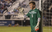 Freshman goalkeeper Joe Ohaus has led the Blue Devils in their past two contests, posting shutouts in both victories.