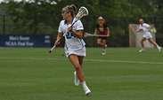 Midfielder Katie Trees notched a career-best four assists against the Trojans.