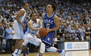 Just as he did Feb. 18 at Cameron Indoor Stadium, Tyus Jones burned the Tar Heels by driving and finishing at the rim.