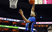 Freshman Jahlil Okafor scored 18 points in Saturday's win at Louisville despite having to be patient to find open looks.