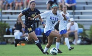 After Miami sent the game to overtime, Laura Weinberg sealed the game for the Blue Devils.