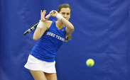 Monica Turewicz set the tone for singles in Duke's win against Northwestern, coming out on top 6-3, 6-1 in the first singles match of the afternoon.
