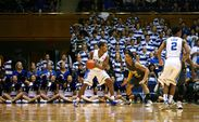 Rodney Hood led Duke with 19 points as the Blue Devils downed Bowie State 103-67.