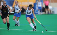 Senior Jessica Buttinger's first half goal was key to the Blue Devils' 4-1 victory against Central Michigan Sunday.