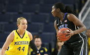 Elizabeth Williams scored 19 points on 8-of-12 shooting against Michigan.