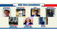 DSG's vice presidents spent this summer preparing for projects to be implemented this year.