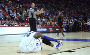 Duke's postseason hopes were derailed by 14th seed Mercer in the Blue Devils' NCAA tournament opener.