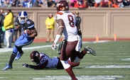 The No. 19 Blue Devils could not escape Saturday's game with a victory, as they fell 17-16 to Virginia Tech.