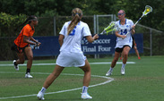Senior midfielder Taylor Trimble will get to play close to home in Fridays' national semifinal against North Carolina.