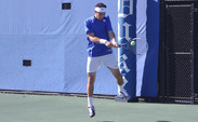 Snapping a five-match winning streak, Duke fell 4-3 to No. 2 Oklahoma in San Diego.