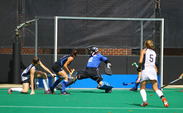 Redshirt junior goalkeeper Lauren Blazing headlines the trio of Blue Devils selected to the preseason All-ACC squad.