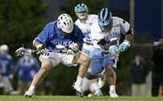 Midfielder Brendan Fowler is winning 62.6 percent of his faceoffs this year, filling CJ Costabile's big shoes.