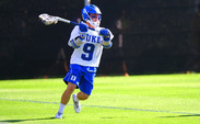 Case Matheis scored three goals, including Duke's last two scores, to send the Blue Devils to its seventh consecutive NCAA quarterfinal.