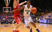 Rodney Hood led Duke with 22 points and added nine rebounds as the Blue Devils cruised to a season-opening win against Davidson.