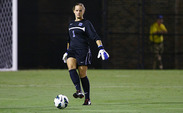 Duke goalkeeper Tara Campbell held Virginia to just one goal but had no offensive support.