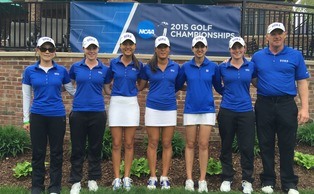 Leona Maguire and Celine Boutier finished first and second to lead the Blue Devils to the NCAA regional title. | Special to The Chronicle