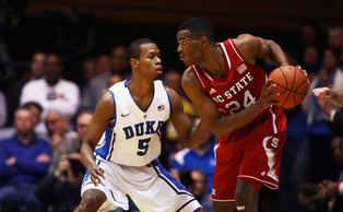 Rodney Hood will have the task of guarding ACC Player of the Year T.J. Warren as his team hopes to reach the ACC tournament final.