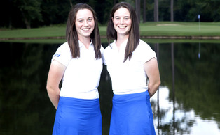 Freshmen Lisa and Leona Maguire passed up the opportunity to join the professional circuit for the chance to come to Duke, get an education and compete for the Blue Devils' seventh national title.Jon Gardiner/Duke Photography