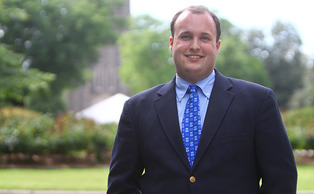 Andrew Barnill, who will graduate Sunday with a Master degree from the Divinity school, will be this year's student speaker at commencement. He will discuss the intersections of religion and ambition.