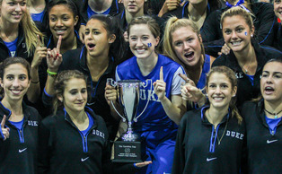 The Blue Devil women captured the Carolina Cup title for the second time in as many years Friday.