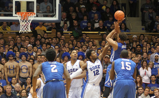 The Blue Devils held Presbyterian to 19 first-half points en route to their first win of the season.