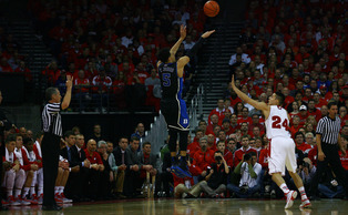 Freshman Tyus Jones went for a team-high 22 points as Duke took down No. 2 Wisconsin Wednesday.