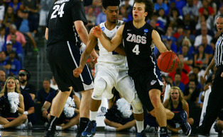 Senior guard Quinn Cook held Gonzaga's Kevin Pangos—the reigning WCC Player of the Year— to four points on 2-of-8 shooting and no assists.