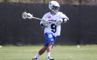 Junior Case Matheis is starting to gel with attackmen Jack Bruckner and Justin Gutdering as postseason play nears.