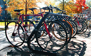 The bike loaner program was not cancelled due to lack of student interest, but rather the expense, inaccessibility and difficulty in managing the program, said DSG President Stefani Jones.