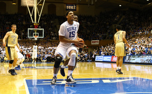 Freshman Jahlil Okafor posted 22 points and 17 rebounds in the Jan. 28 loss to Notre Dame.