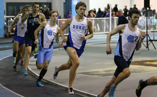 After breaking the four-minute mark in the mile, junior Nate McClafferty and his 4-x-mile team have a chance to break Duke's all-time record.