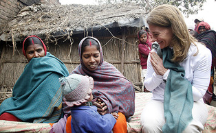 Melinda Gates, Trinity '86 and Fuqua '87, has been recognized for her philanthropic work around the world in the areas of health and education.