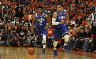 Senior Quinn Cook is averaging a career-high 14.8 points through 25 games this season and will look to lead Duke to victory against rival North Carolina Wednesday.