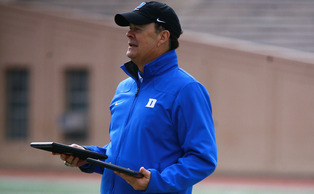 Head coach David Cutcliffe's team's success the past two years has brought a heightened sense of interest from recruits.