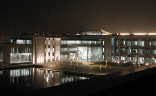 The Academic Council spent most of its meeting privately discussing Duke Kunshan University, pictured above.