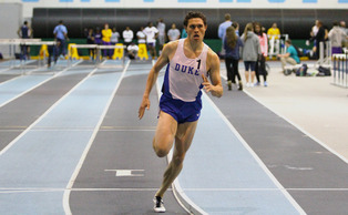 Curtis Beach and the 4X400 relay team broke Duke's school record Saturday with a time of 3:11.74.
