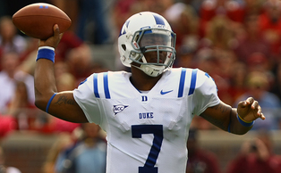 First-year starter Anthony Boone will be under the microscope during Duke's training camp. (Chronicle File Photo)