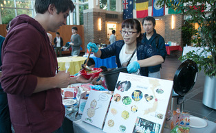 The 2014 Annual International Week—which began Sept. 29—featured events that celebrated the numerous international students and scholars that make up its diverse student body.