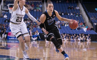 Rebecca Greenwell and the Blue Devils look to kickstart a Final Four run Friday against Albany.
