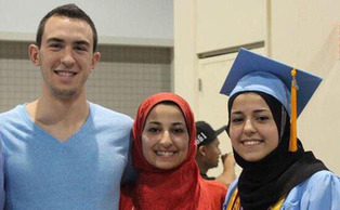 Deah Barakat, his wife, Yusor Mohammad, Abu-Salha and her sister Razan Mohammad Abu-Salha were shot and killed Tuesday.