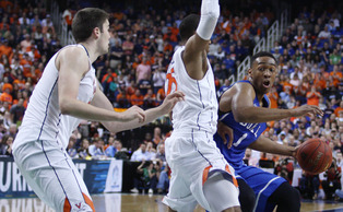 Jabari Parker found a groove early in the second half, but Virginia's defense around the stretch prevented him from guiding the Blue Devils to victory.