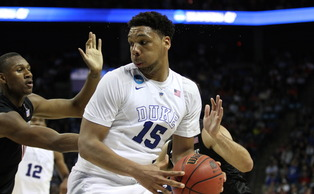 Jahlil Okafor scored 18 first-half points on 9-of-12 shooting.