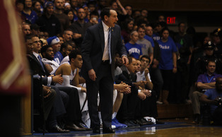 Head coach Mike Krzyzewski pointed toward the team's youth and the 12-day break as two factors that hobbled the Blue Devils Monday.
