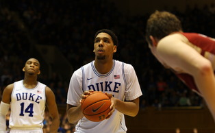 Freshman Jahlil Okafor entered Saturday's game shooting just 50 percent from the free throw line, but knocked down 14-of-17 against Boston College.