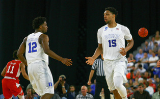 Jahlil Okafor and Justise Winslow are expected to be top-10 picks in Thursday's NBA draft.